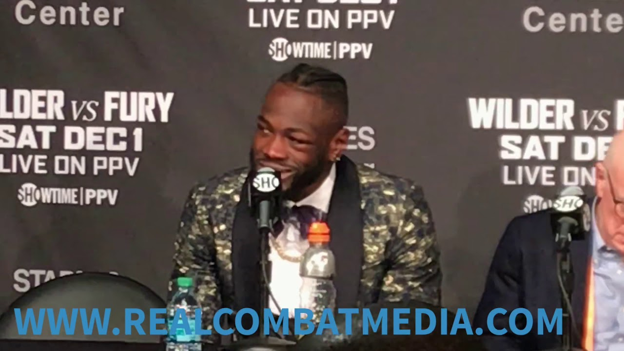 Download DEONTAY WILDER SPEAKS WITH THE MEDIA AFTER HIS FIGHT AGAINST TYSON FURY