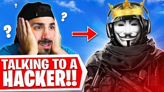 We Talked To The #1 Warzone Hacker! 🤯 (INSANE)