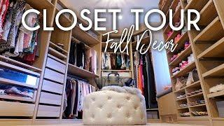 CLOSET TOUR   Fall 2018