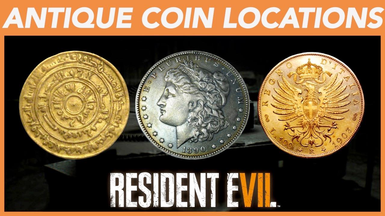 all coins resident evil 7