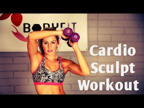 20 Minute Full Body Cardio Sculpt for Fat Burning and Toning