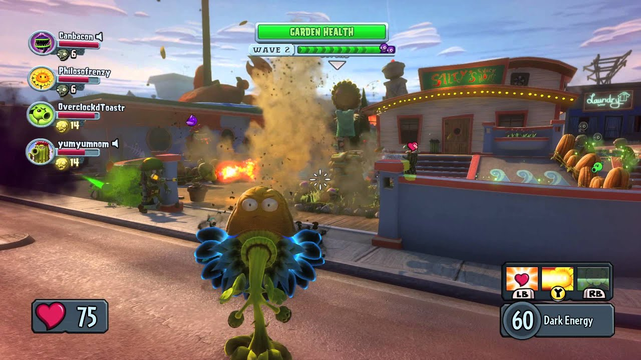 Plants Vs Zombies Garden Warfare Pc Gameplay Teaser Youtube