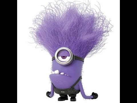 How To Draw Minion Purple   Purple Minions