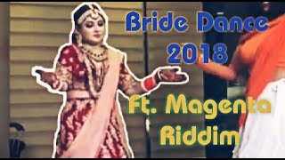 The coolest bride Dance on her wedding | Magenta Riddim - Dj Snake