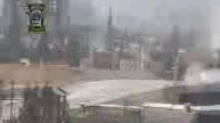 Боевики в Сирии обстреляли Российский танк Т-80