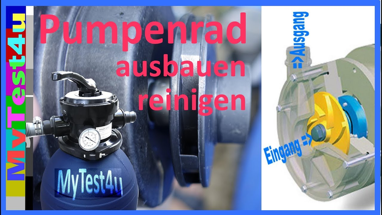 Pool Pumpenfilter Reinigen Sand Filter Pool Impeller Cleaning T I P Spf 180