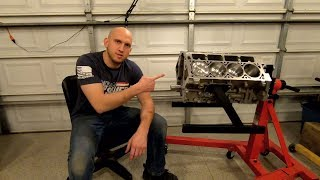 Texas Speed Cleetus McFarland Resleeved 427 Short Block Unboxing !!!