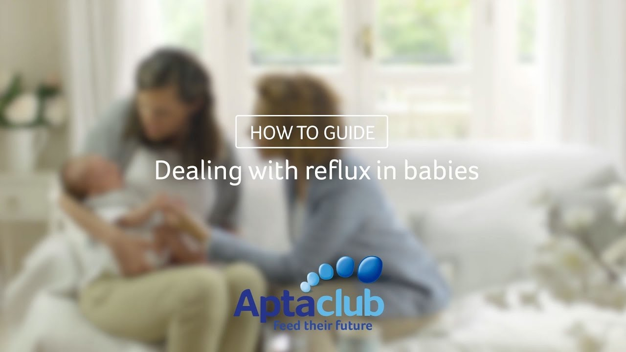 Baby Reflux: Infants With Reflux, Symptoms & Causes - Aptaclub