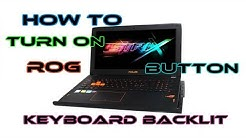 Asus Rog Strix(Keyboard Backlite and Rog Button Issues)- SOLVED!!!