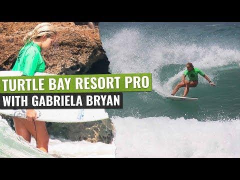 Turtle Bay Resort Pro   Gabriela Bryan