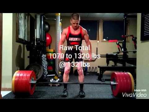 Mark V. Brandenburg 1st year of powerlifting progr