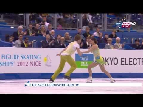 2012 World Championships - Nathalie PECHALAT / Fabian BOURZAT (SD)