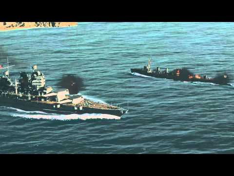 World of Warships fan-made launch trailer (cinematic gameplay footage)