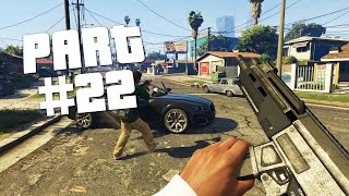 "GTA 5 - First Person Walkthrough Part 22 ""Hood Safari"" (GTA 5 PS4 Gameplay)"