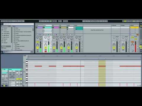 How to make psytrance bass triplets in...