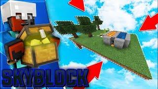 CobbleStone Generator! - Minecraft PE SkyBlock EP.2 - Minecraft PE (Pocket Edition)