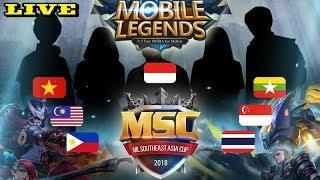 SC 2018 PARTY OF LEGENDS IS HERE! Inilah livestream dari MSC 2018 G...