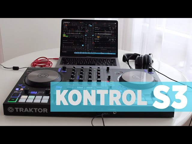 Traktor Kontrol S3: First Look With Ean Golden