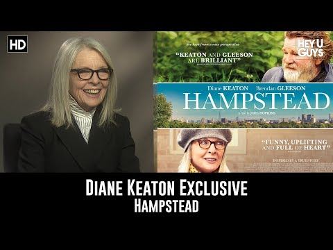 Diane Keaton - Hampstead Exclusive Interview