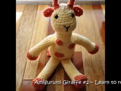 How To Read A Crochet Pattern 2 Amigurumi Giraffe Youtube