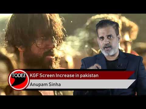 #YashMonster की #KGF Pakistan में Superhit by Anupam Sinha