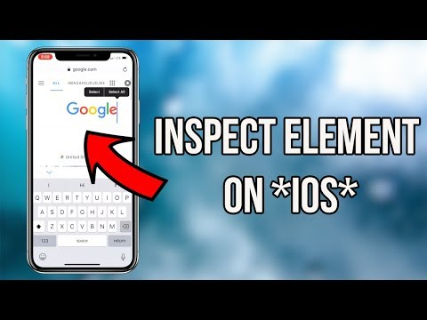 How To Inspect Element On Your IPhone/iPad Using Safari (How To Inspect Element On IOS)
