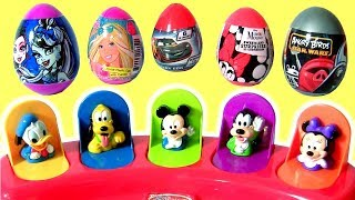 Disney Baby Mickey Mouse Clubhouse Pop Up Pals Minnie Donald BARBIE DOLLS TOYS SURPRISES BY FUNTOYS