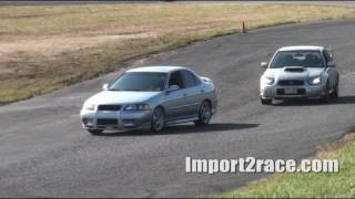 Sti - 240sx - Nissan SE-R - Miata-Corvette Englishtown Road Course
