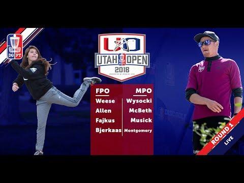 Round One 2018 Utah Open - FPO & MPO Coverage