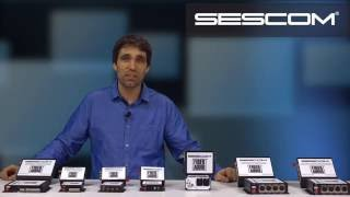 Sescom FA Series Fiber Audio Transmission Systems
