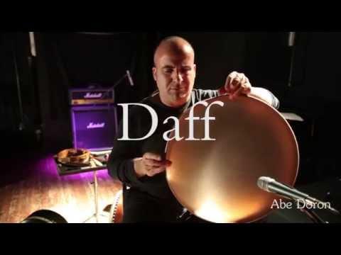Frame Drum Basics -  Lesson by Abe Doron ( Daff / Tar Drum)