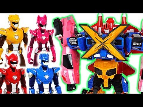 Miniforce X commando X machine 4 combine transform robots and New action figure!- DuDuPopTOY