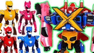 Miniforce X commando X machine 4 combine transform robots and New action figure!- DuDuPopTOY