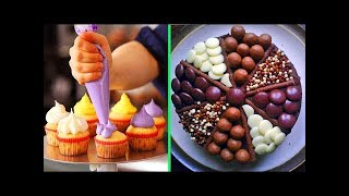 How To make AMAZING CUPCAKE Decorating Video 2018 - Best Amazing Chocolate Cake Ideas Compilation