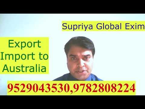 Export--Import To Australia