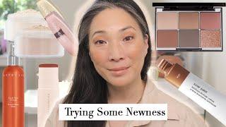Trying New Makeup - Wayne Goss | Laura Mercier | Glossier