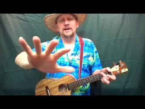 MUJ:Day-O, aka The Banana Boat Song - Harry Belafonte (ukulele tutorial)
