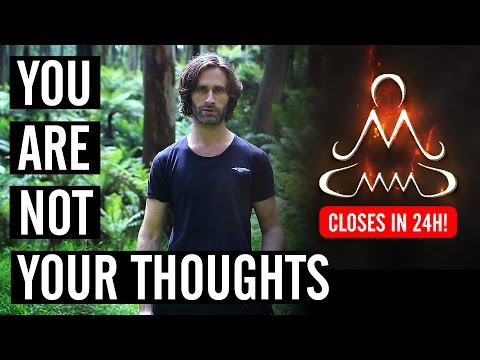 You Are Not Your Thoughts - Only 24 hours left to join MMM - James Marshall - 동영상