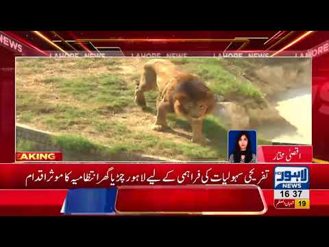 Lahore Zoo announces to launch official website