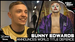 Sunny Edwards Announces First World Title Defence For September 11 With Brilliant Joe Joyce Cameo 😂