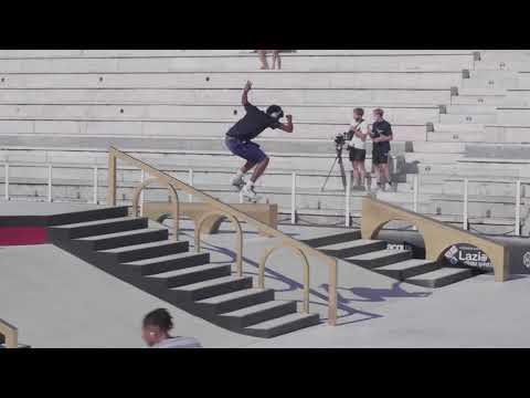 Street Skateboarding World Championships - Rome - Men's Practice Day 3