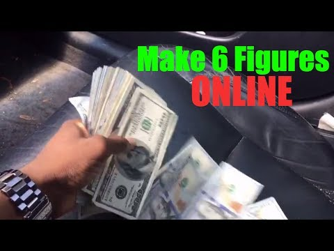 New Way To Make Money Online $100,000 From Home 2018