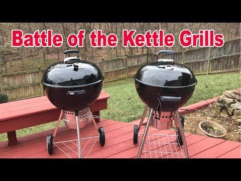 Battle of the Kettle Grills - Weber vs Sam's Club (Members Mark)
