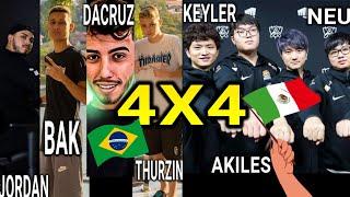 GRINGO vs BR 4X4 INSANO, BRASILEIROS HUMILHARAM OS GRINGOS EM CAPEONATO!!!