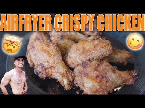 Crispy Chicken Wings With An Air Fryer | Healthy Chicken Wing Recipe