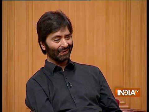 Yasin Malik Says Include Kashmiri People In Decision Making About Jammu & Kashmir - India TV