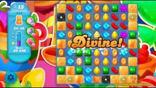 Candy Crush Soda Saga - Level 855 (3 stars, No boosters)