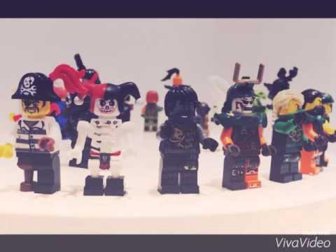 Лего Ниндзяго 2017 года Вермиллионы Минифигурки Обзор Новинок LEGO .