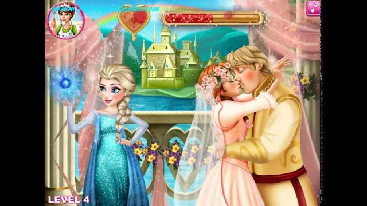 Anna And Kristoff Wedding Night - Free Games [Jogos ...