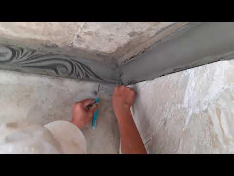 Sample Only Cement Reliefs/  đắp Chỉ Phào Trần Nhà Nhìn đẹp Mắt